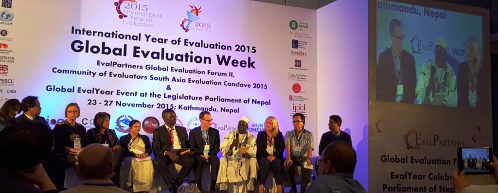 Global Evaluation Agenda 2015